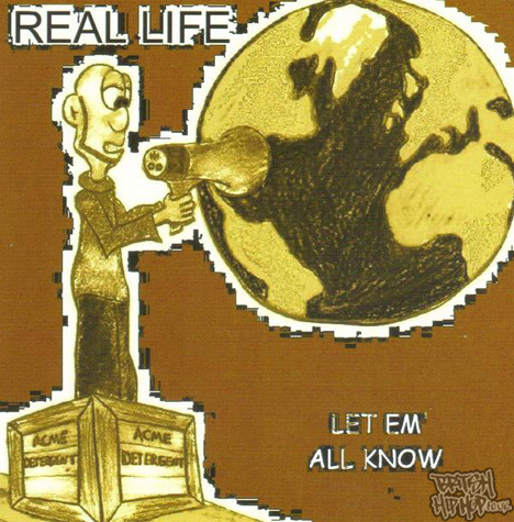 Real Life - Let 'Em All Know CD [White]