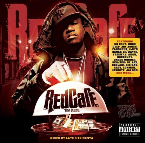 Red Cafe - The Menu (Mixed By Late & Tricksta) CD [Wolftown]