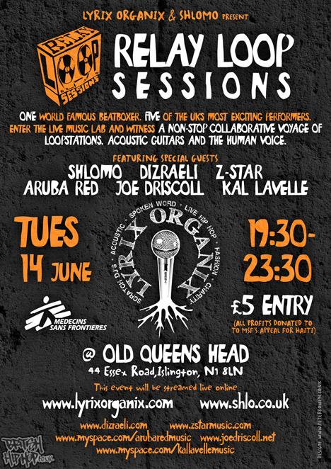 Lyrix Organix And Shlomo Present - Relay Loop Sessions