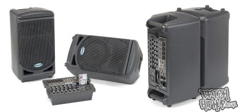 XP308i Portable PA System From Samson Technologies