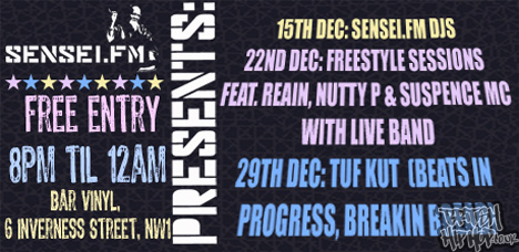 Reain At Sensi FM Freestyle Session