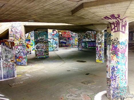 Southbank Skate Park Closure
