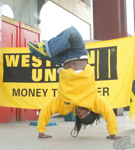 Record Breaking Dancer Steady Involved In Western Union Initiative Launch 2007