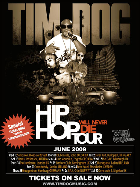 Hip Hop Will Never Die Tour: Tim Dog Feat. Kool Keith