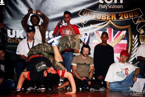 Sony Ericsson adds a new spin to the B-Boy Championships