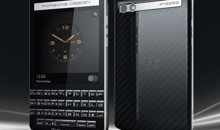 Could the new Blackberry Porsche be a luxury smartphone?