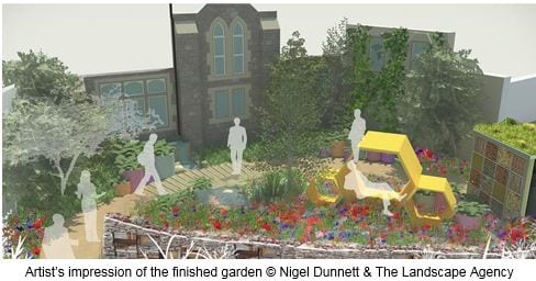 RHS Hampton Court Palace Flower Show teams up with the BBC