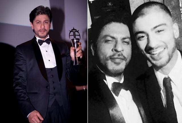 Winners Shahrukh Khan, Zayn Malik and Naughty Boy have a blast at the annual asian awards 2015