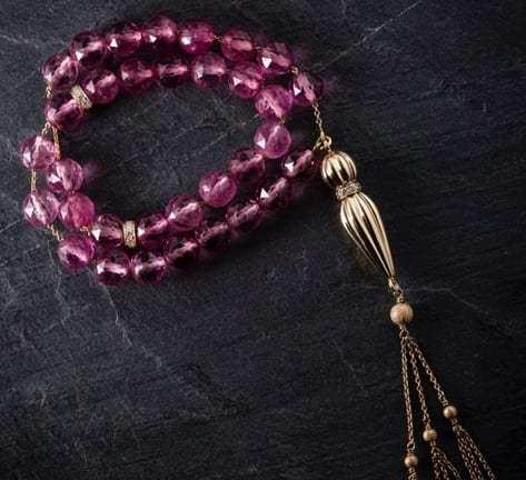 Matthew's exquisite collection of Misbahah prayer beads set