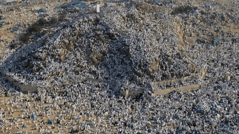 Over two million muslims gather on Mount Arafat