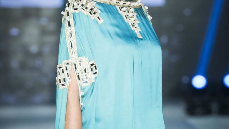 OMANI FASHION DESIGNERS AMAL AL RAISI & BTHAINA'S COLLECTION