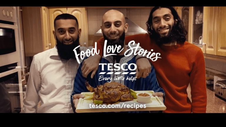 Tesco's halal chicken ad draws racist backlash