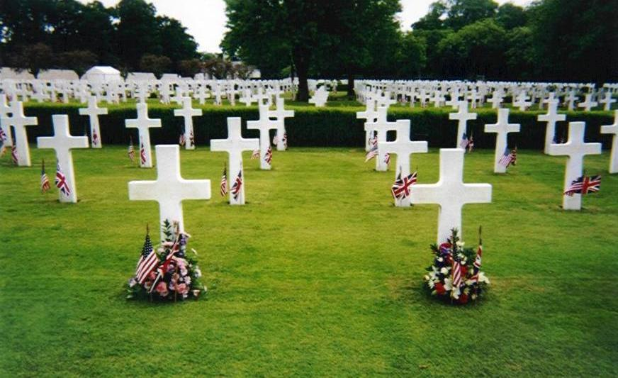Cambridge American Military Cemetery, England