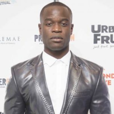 The British Urban Film Festival best actor award 2016: Emmanuel Imani ('Invisible Men')
