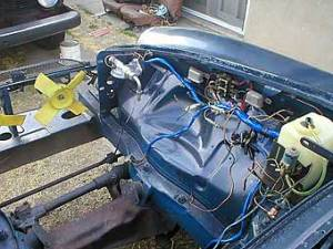 Jake Voelckers' MGB  Buick 35L V8 Engine Conversion