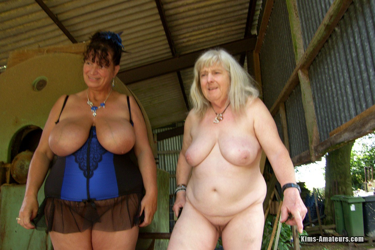 kim and her 70 year old mate having sex on a farm – british