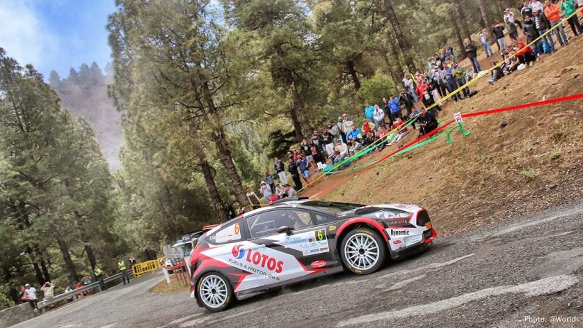 El Rally Islas Canarias plasma un excitante recorrido