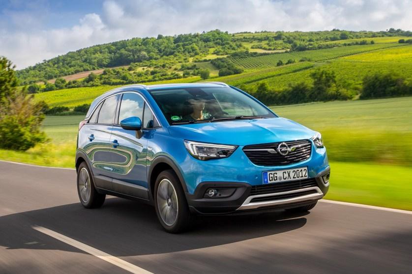 Doble estreno para el Opel Crossland X