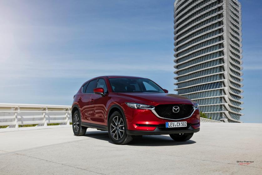 Mazda registra el mejor año de su historia