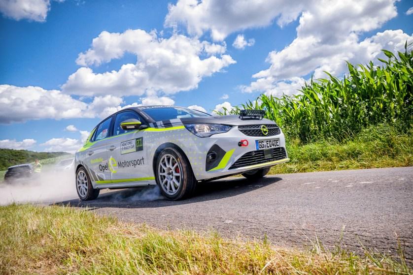Opel Corsa-e Rally: la seguridad es lo primero