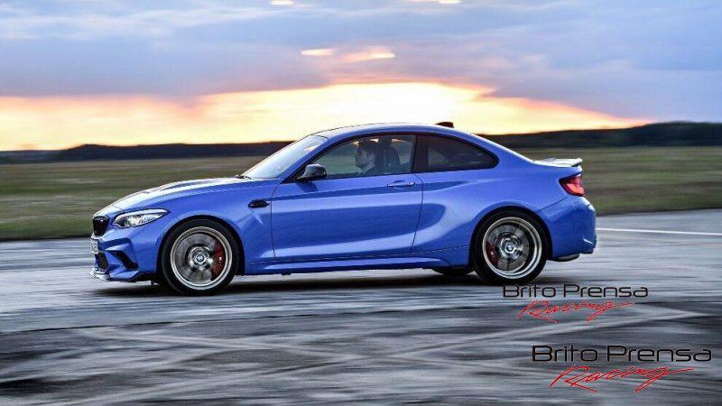 El M2 CS tiene ese típico tacto de las cajas de BMW