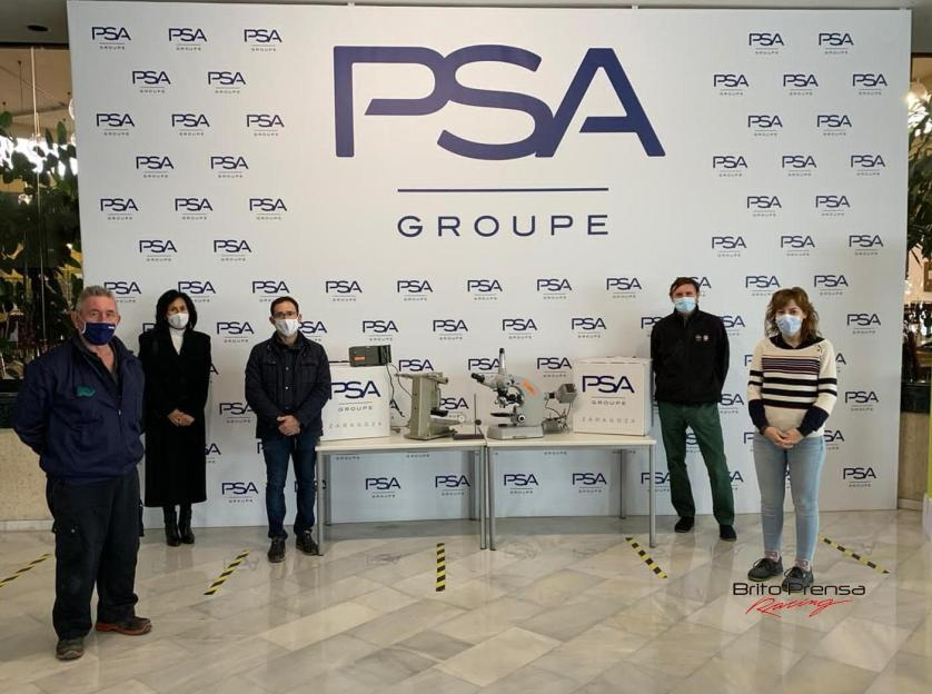 Groupe PSA apoya la formación de jóvenes estudiantes