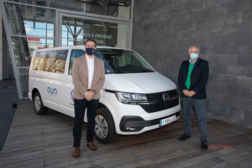 Domingo Alonso Group y Volkswagen Comerciales Canarias colaboran en las tareas de vacunación del Servicio Canario de Salud