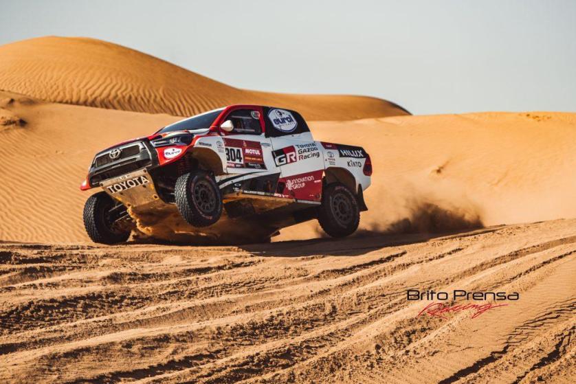 Segunda plaza y 8 victorias de etapa para Toyota en el Dakar 2021