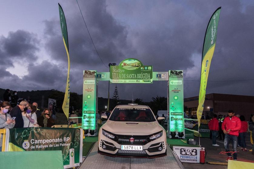 Todo listo para el 37 Rallye Villa de Santa Brígida
