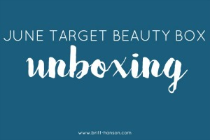 June Target Beauty Box Unboxing