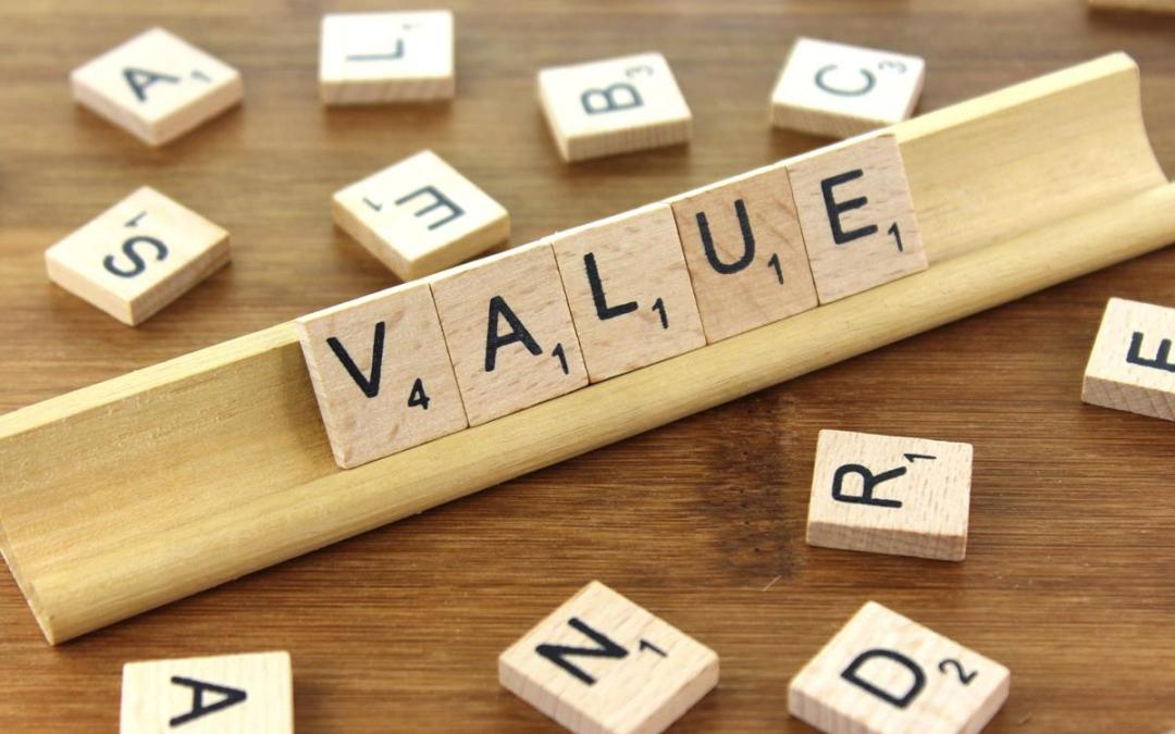 Value Scrabble Tiles