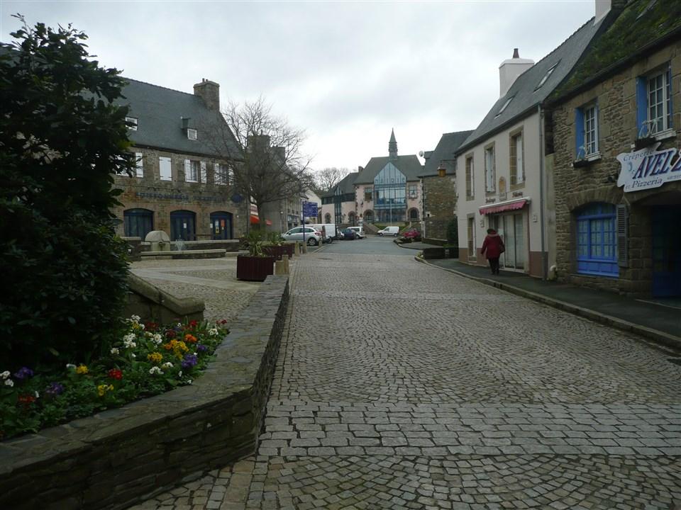 Plestin-les-Greves town