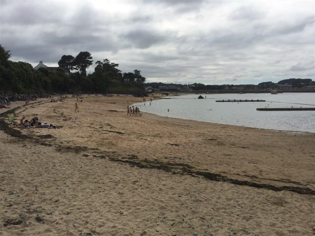 The beach at Paimpol Plage de la Tossen