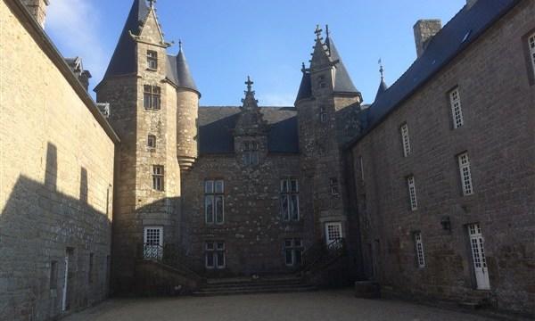 Castle de Ploubezre Brittany