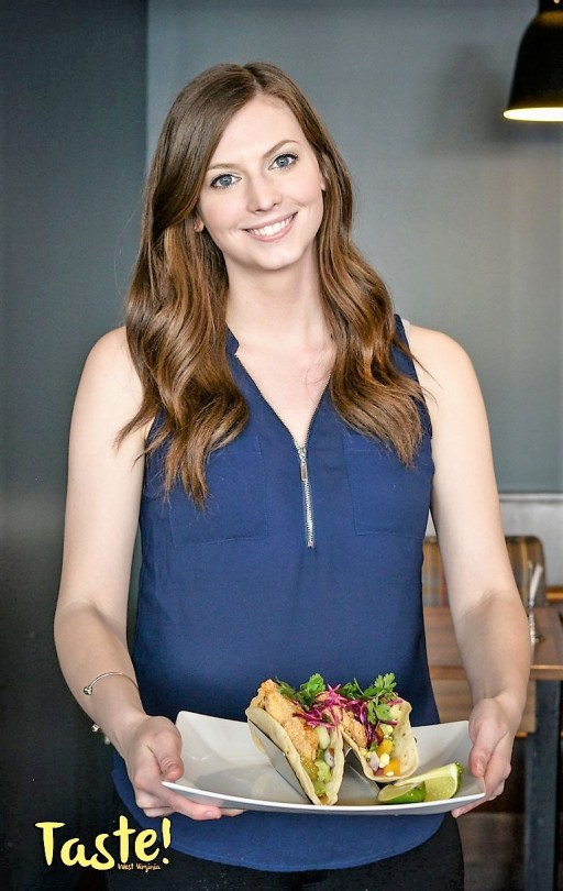 Brittany Furbee at the 2018 Taste-of-All Charleston (Photo courtesy of Taste of West Virginia Magazine)