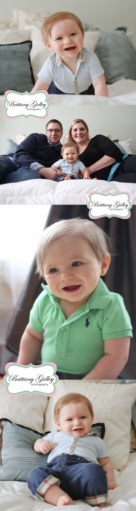 6 Month Baby | Cleveland Baby Photography | Brittany Gidley Photography LLC