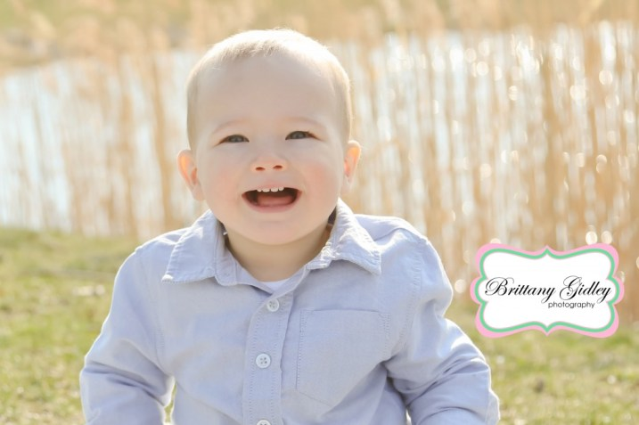 Cleveland 12 Month Baby Photographer | Cleveland 12 Month Baby Photography | Brittany Gidley Photography LLC