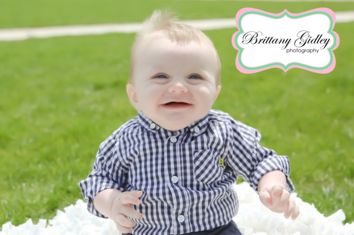 6 Month Baby Photography Cleveland | Brittany Gidley Photography LLC