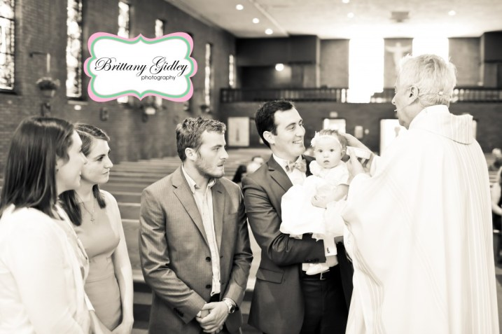 Cleveland Baptism Photography | Brittany Gidley Photography LLC