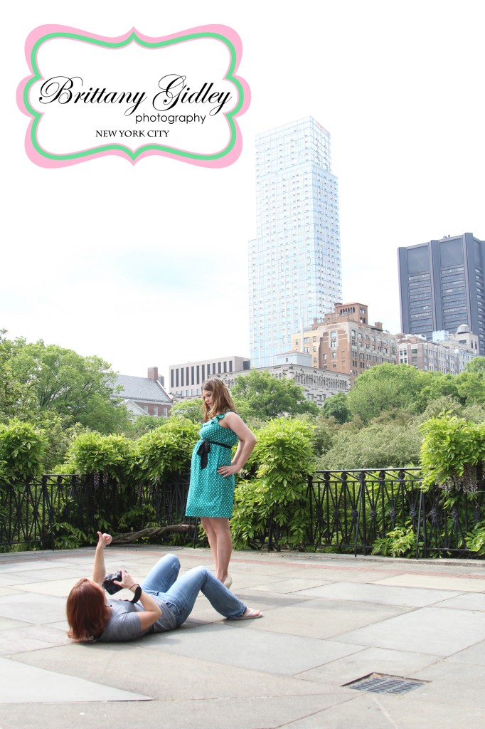 Central Park Maternity Photography | Brittany Gidley Photography