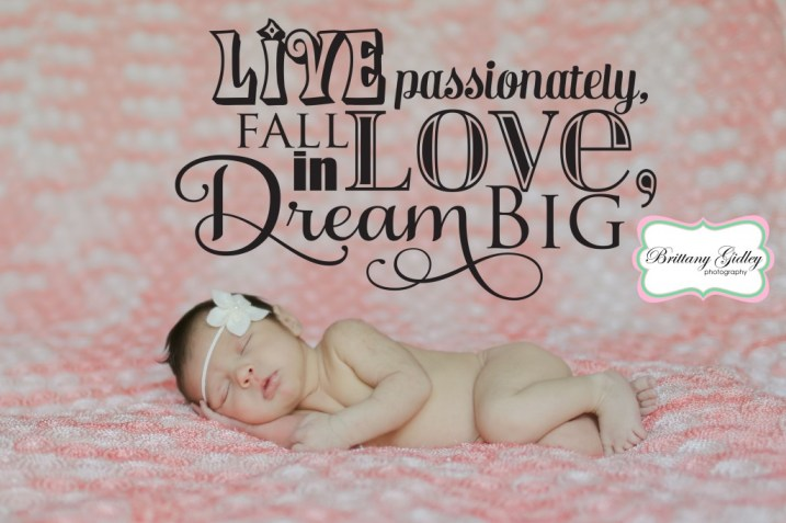 Baby Girl Photography | Brittany Gidley Photography LLC