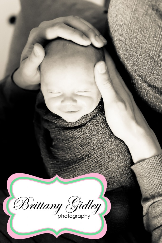 Smiling Baby Boy | Brittany Gidley Photography LLC