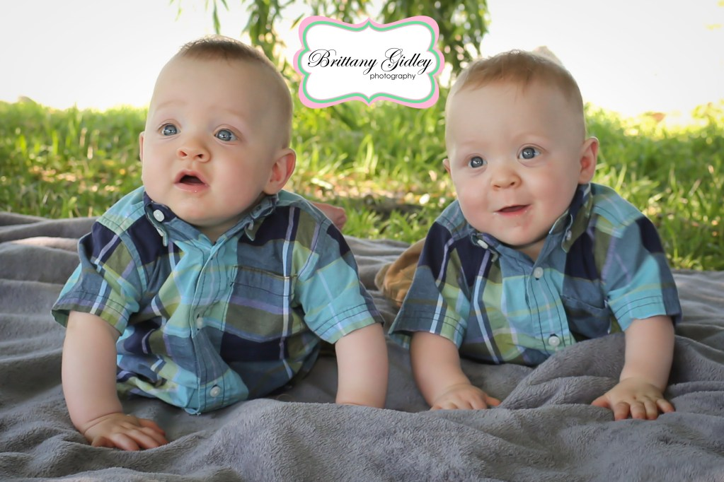 Meet Brayden & Carter 6 Months | Cleveland Twin Photographer