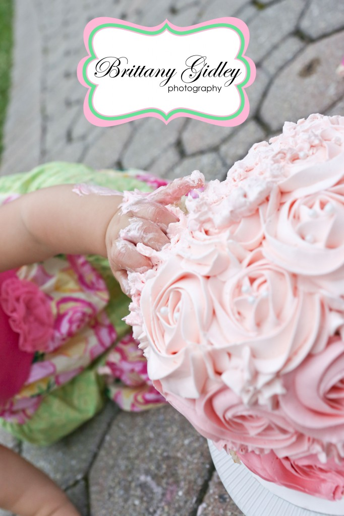 Baby Smash Cake   Brittany Gidley Photography LLC