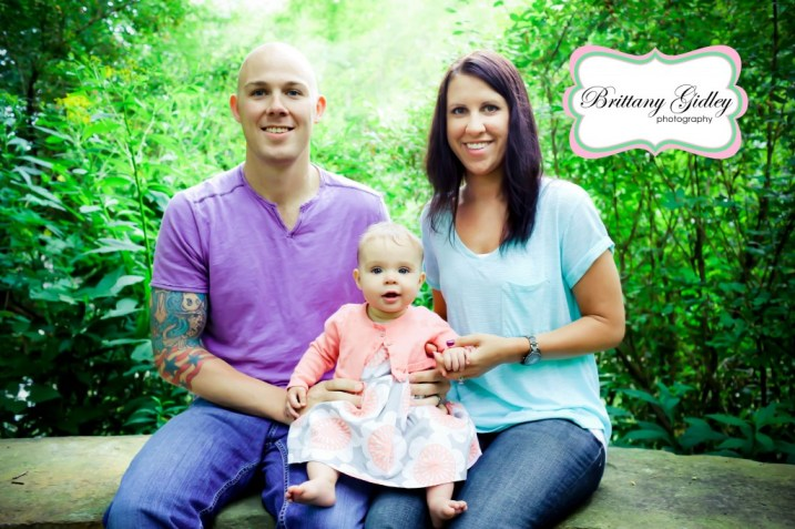 6 Month Baby Photographer | Brittany Gidley Photography LLC