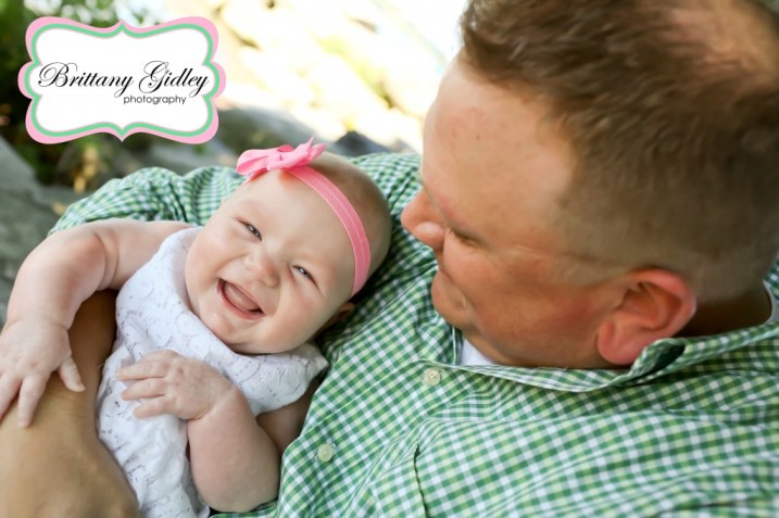 3 Month Baby With Dad | Brittany Gidley Photography LLC