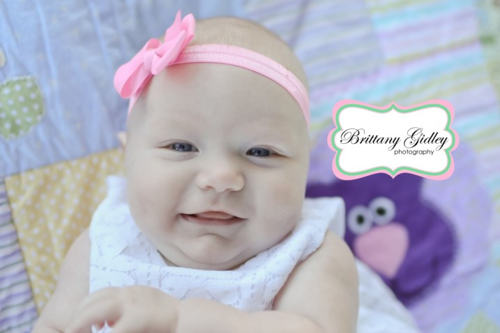 Sweet 3 Month Old Baby | Brittany Gidley Photography LLC