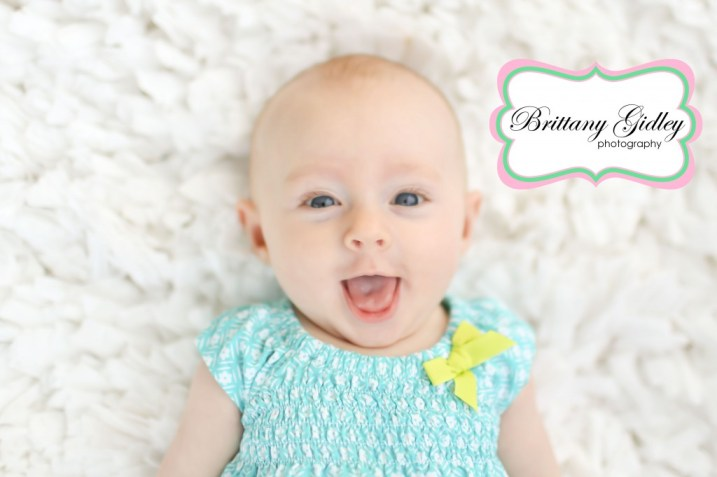 3 Month Old Baby | Brittany Gidley Photography LLC