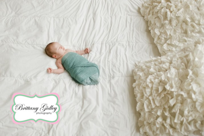 5 Week Baby | Brittany Gidley Photography LLC
