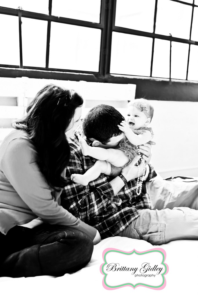 6 Month Baby | Brittany Gidley Photography LLC